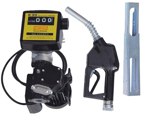 Elektropumpe Cematic 56 K33 – mit Zählwerk und Zapfpistolenhalter