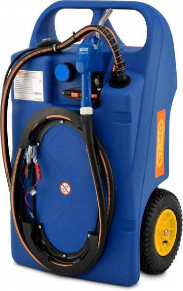 Beispiel Trolley für AdBlue® (AUS32) 100 Liter mit Elektropumpe CENTRI SP30
