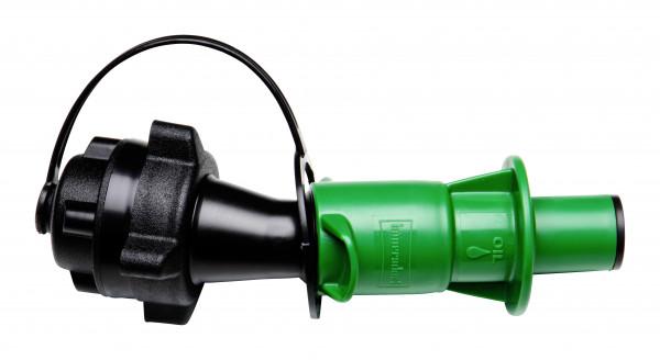 Sicherheitsbefüllsystem grün für Kanister mit 5 oder 10 Liter und ExO-Kanister
