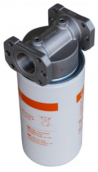 Filter mit Kartusche und Wasserabscheider max. 70 l/min
