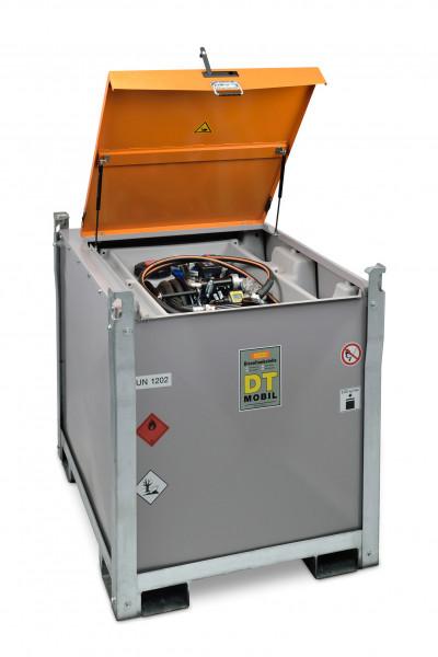 DT-Mobil PRO ST COMBI 980/200 Basic mit Elektropumpe Cematic Duo – Beispielabb. mit PE-Tank