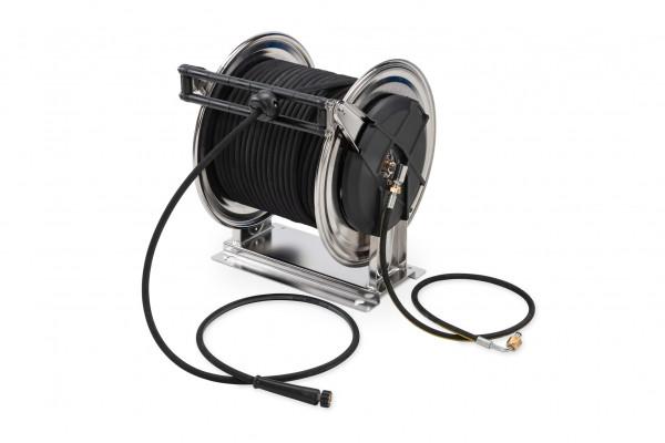 Schlauchtrommel mit 40 m Hochdruckschlauch DN10 22 MPa für mobiles Reinigungs- & Unkrautbekämpfungssystem MCS 1000 HD