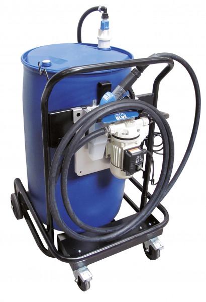 Fahrbare Tankanlage Bluetroll Mobil für Fässer