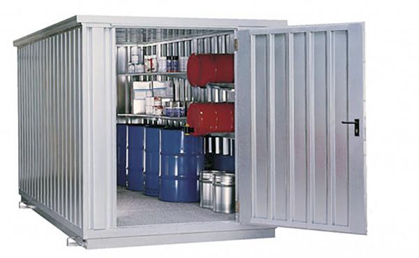 Beispiel Raumcontainer SRC 3.1W mit Tür an Schmalseite