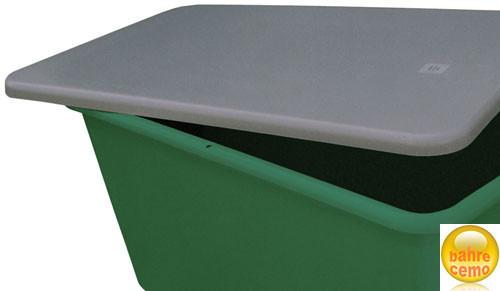 Cemo Flachdeckel für Rechteck-Behälter