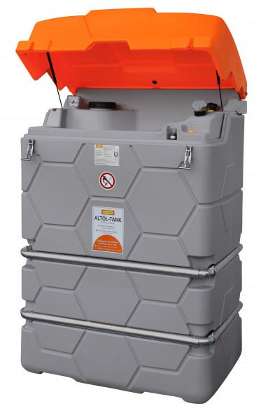 CUBE Altöltank 1000 Liter mit Klappdeckel für Außenbereich