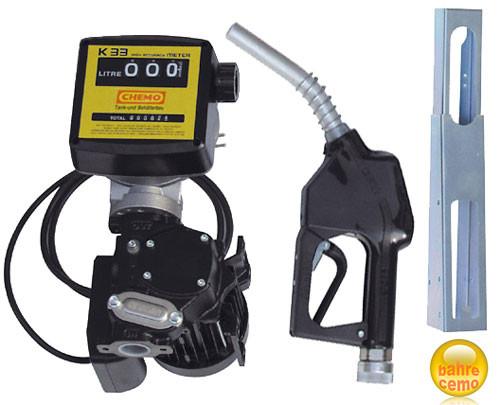 Elektropumpe Cematic mit Zählwerk und Zapfpistolenhalter