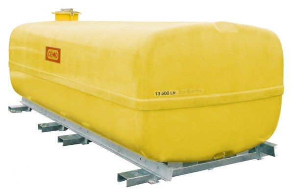 Beispiel GFK-Fass kofferförmig 13.500 Liter