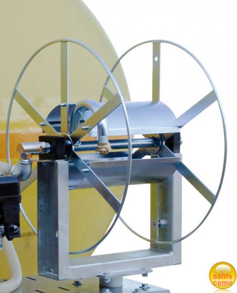 Beispiel Schlauchhaspel schwenkbar und höhenverstellbar