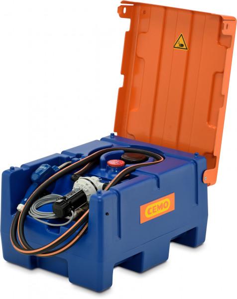 Blue-Mobil Easy 125 Liter mit 12-Volt-Pumpe mit Klappdeckel
