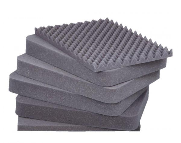 PU-Schaumstoff-Sets (Würfelschaum) für Alutec-Boxen
