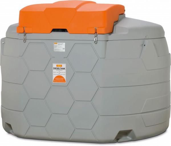 Diesel CUBE-Tank 5000 Liter Outdoor Erweiterungseinheit II mit Verbindungseinheit