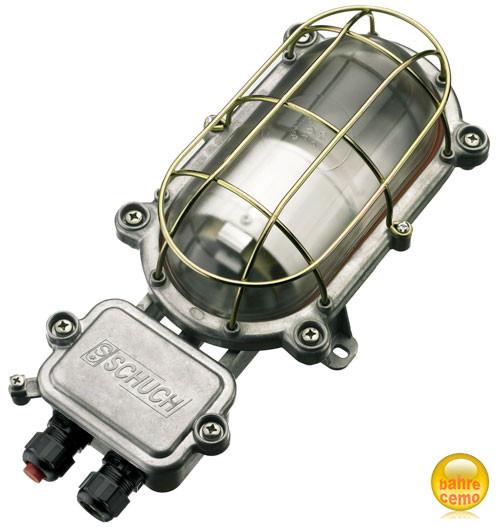 Ovalleuchte 60 W, für Sicherheits-Raumcontainer