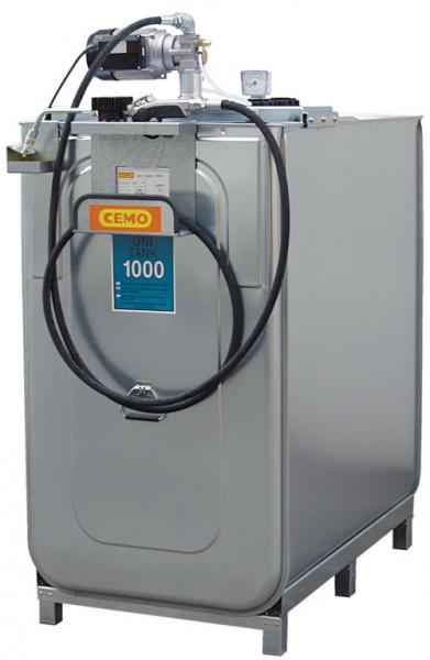 Beispiel Kompaktanlage UNI 1000 mit Schlauchhalter