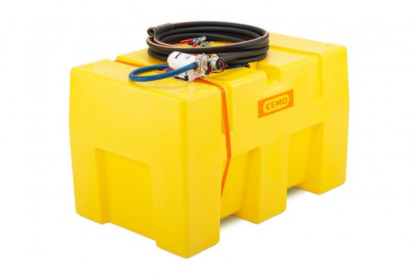 Cemo mobiles Bewässerungssystem BWS 25-PRO PE mit 400 Liter und Zahnradpumpe 12 | 24 Volt