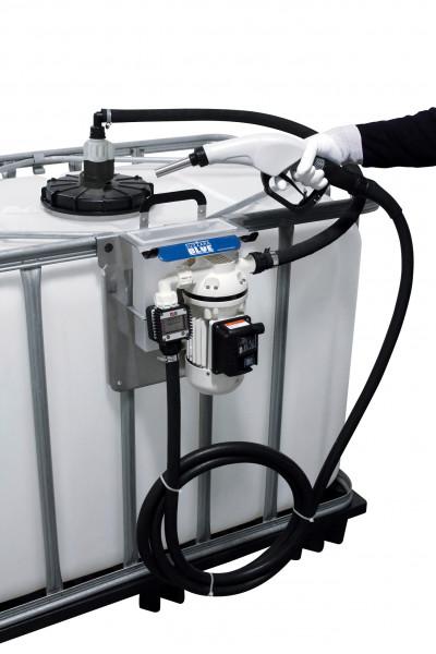 Cematic Blue Pumpensystem für IBCs mit Zubehör Zähler K24