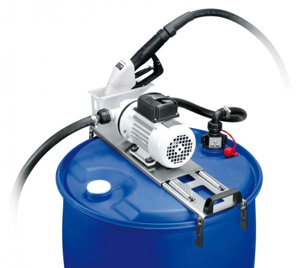 Cematic Blue Pumpensystem für Fässer - kompaktes System zum Tanken von Harnstofflösungen
