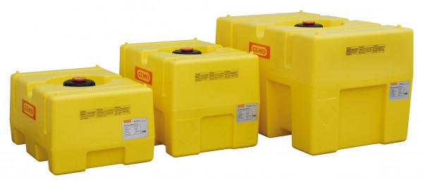PE-Fässer kastenförmig Größenvariationen von 125 l bis 450 l