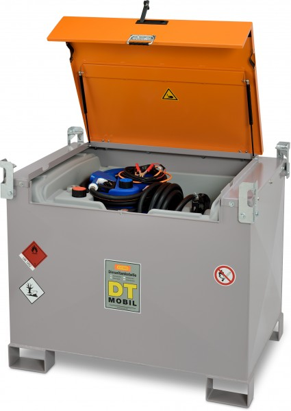 DT-Mobil PRO PE COMBI 440|50 Liter Basic mit 12-Volt- oder 24 Volt-Pumpe