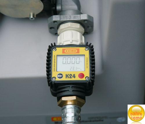 Digitaler Durchflusszähler K24 für DT-Mobil Easy 210 | 440 und 440-50 Liter sowie Pick-up 210 Liter