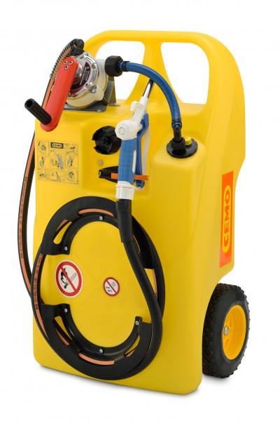 Caddy für Scheibenreiniger und Frostschutzmittel 60 Liter