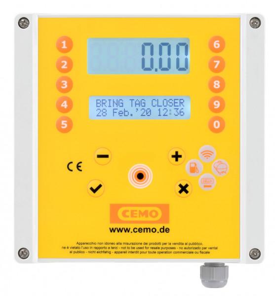 Zähler mit Zugangskontrolle und Tankdatenverwaltungssystem CMT20 SIM für AdBlue® 230 Volt