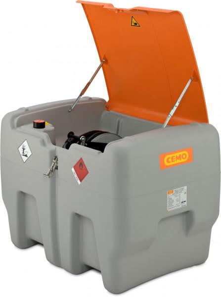 Abb. ähnlich: DT-Mobil Easy Premium 400 Liter mit 24-Volt-Pumpe | Zähler und Schlauchaufroller