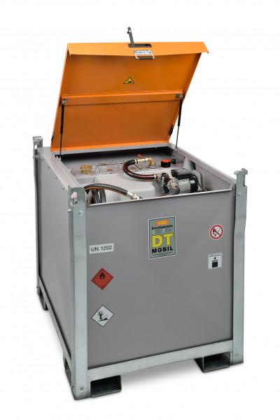 Beispiel DT-Mobil PRO ST 980 Premium mit Stahlinnentank und Schlauchaufroller sowie Elektropumpe mit Zähler und Filter