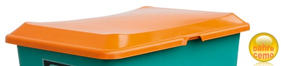Stapeldeckel 400 Liter Rechteckbehälter, orange