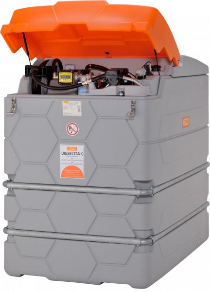Outdoor Premium Plus CUBE-Dieseltank 2500 Liter mit Tankdatenverwaltungssystem CMO10