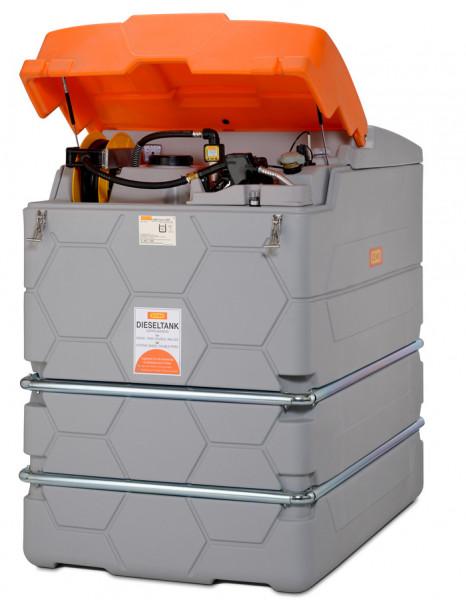 Beispiel CUBE-Dieseltank Outdoor-Premium mit Klappdeckel