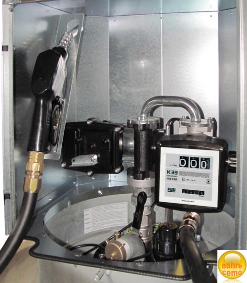 Elektro-Pumpe ATEX mit Zähler, für CEMO Kraftstoffanlagen