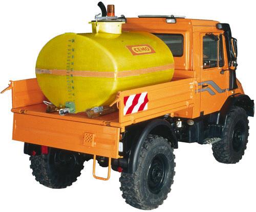Wasser-Fässer für Unimog - Multicar und Pfau