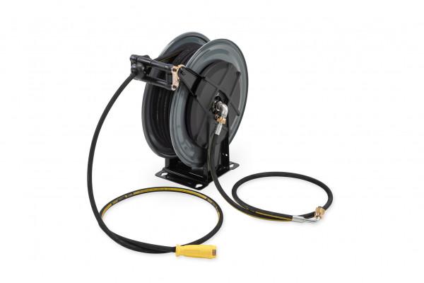 Schlauchtrommel mit 20 m Hochdruckschlauch DN8 40 MPa für mobiles Reinigungs- & Unkrautbekämpfungssystem MCS 1000 HD
