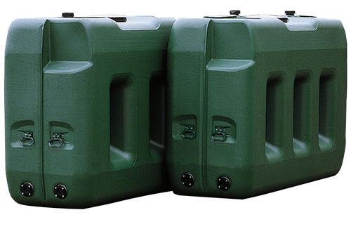 PE-Großspeicher 2000 und 3000 Liter