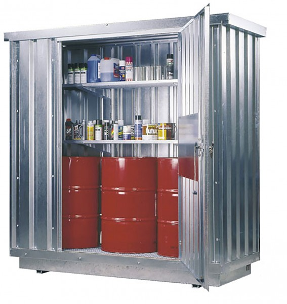Beispiel Sicherheits-Raumcontainer Typ SRC 1.1T mit Wärmeisolierung