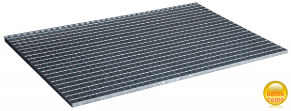 Beispiel Stahlgitterrost für Fassregal Typ 360 und 540