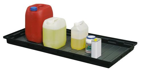 Beispiel PE-Auffangwanne 40 Liter ohne Rost