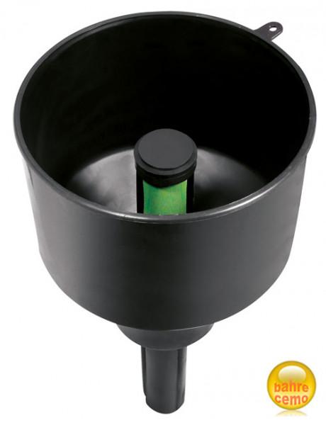 Trichter mit Wasserabscheider und Filter F3C