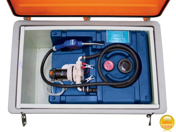 Beispiel CEMbox 400 mit Isolierpaket und Blue-Mobil Easy 200 Liter