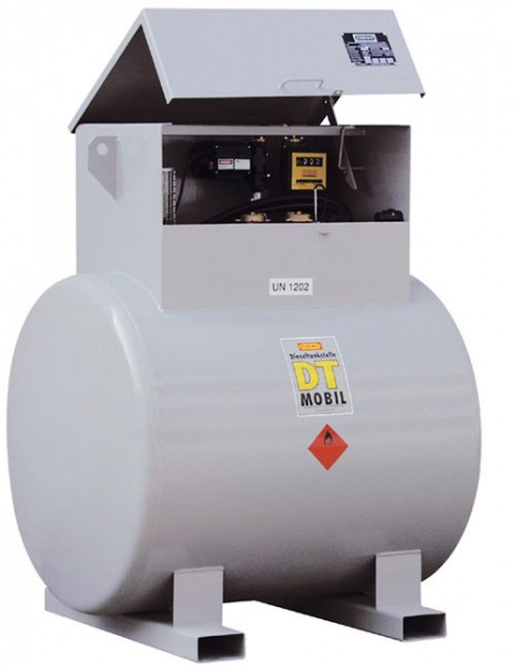 DT-Mobil 980 Liter – offener Staubkasten