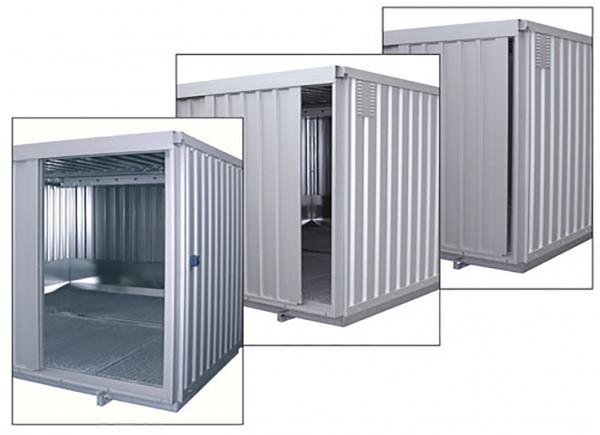Abb. ähnlich Sicherheits-Raumcontainer Typ SRC N ST mit Schiebetor