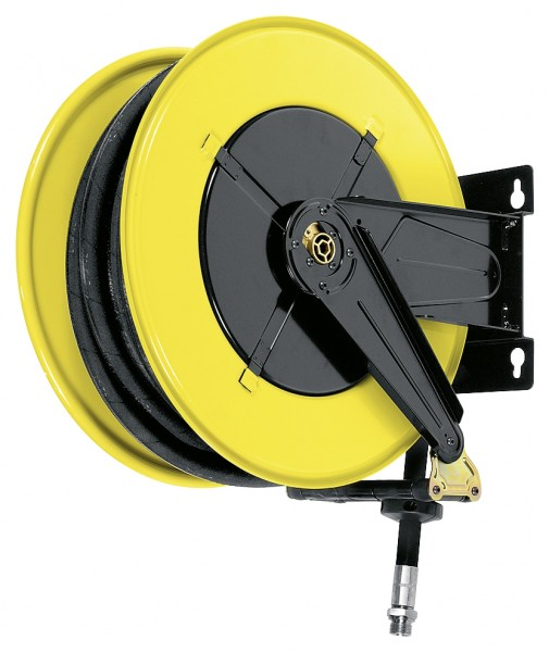Schlauchaufroller mit Gelenkarm inkl. 15 m Schlauch ø25 mm