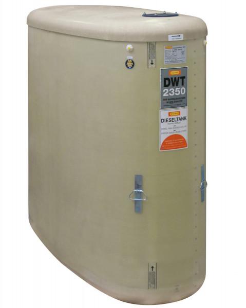 Beispiel DWT-Tank 2350 Liter ohne Zubehör