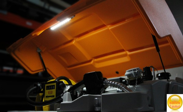 LED-Beleuchtung für CUBE-Tank