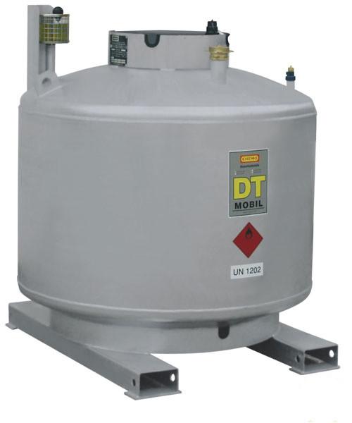 DT-MOBIL doppelwandig lackiert mit 980 Liter Inhalt