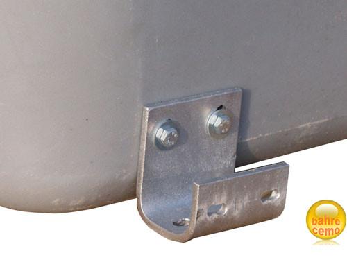Pritschenbefestigung für Fahrzeugbox