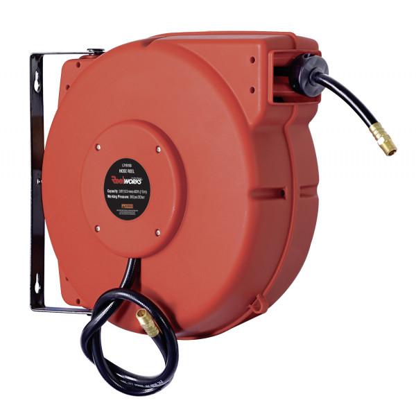 Schlauchaufroller geschlossen für Druckluft – 15 m Schlauch ø 15 mm