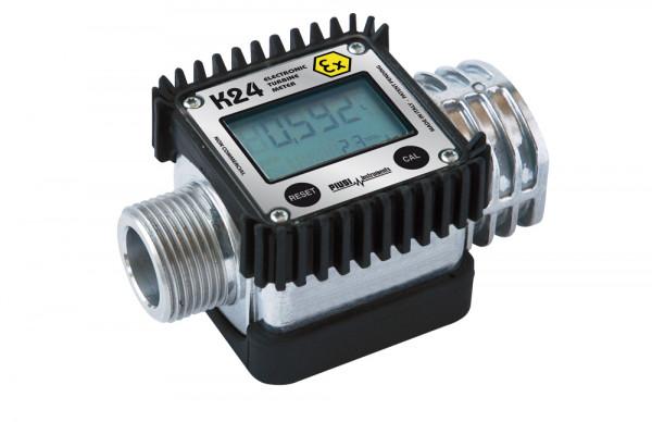 Durchfluss-Zähler K24 A, mit Aluminium-Gehäuse