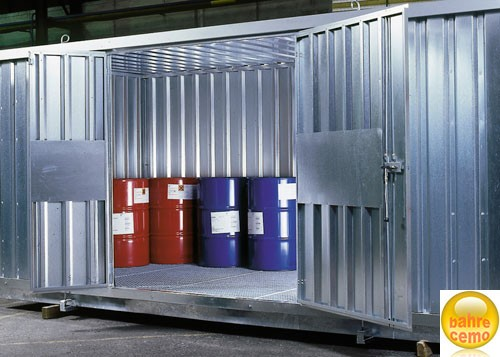 Beispiel zweiflügelige Tür für Sicherheits-Raumcontainer